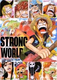 Strong World, One Piece, Anime